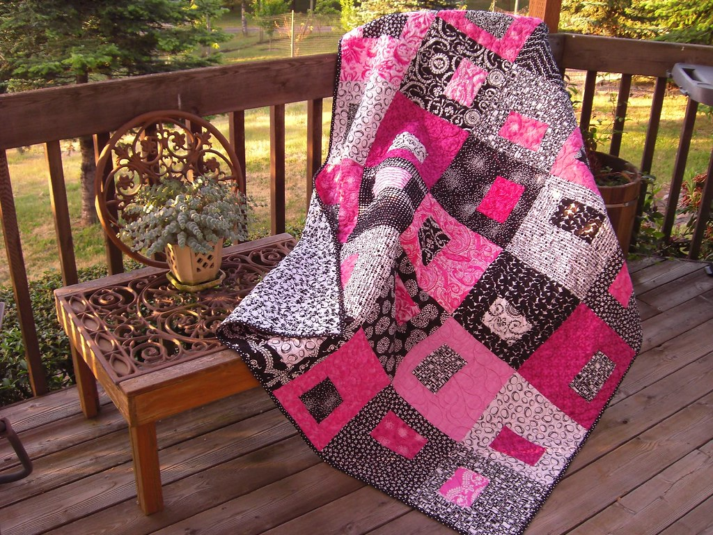 Putting On The Pink Quilt Quilt Made To Be Auctioned At