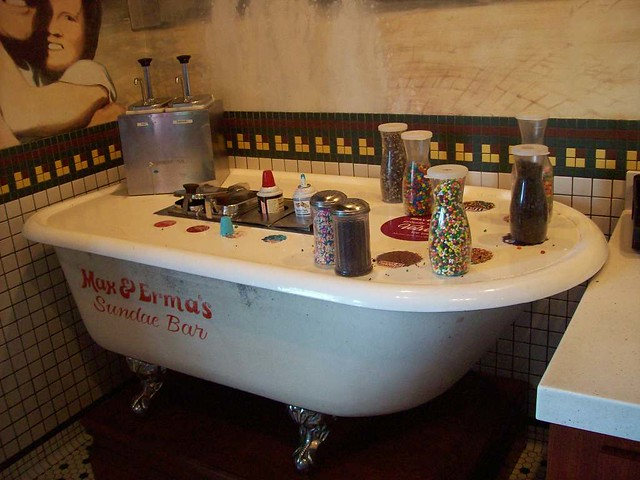 Bathing in a Sundae Bar | The all-you-can-eat sundae bar at … | Flickr