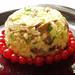 rice salad with squash and mushrooms