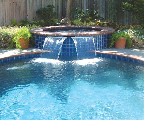 Tampa add on swimming pool spa and pool fountain tampa for Fontaine piscine