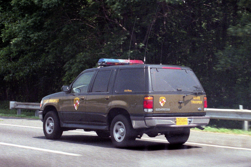 White Ford Explorer >> Maryland State Police Ford Explorer | Maryland State ...