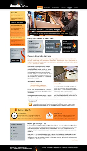 BanditAds.com Website Design | by Juanma Teixidó