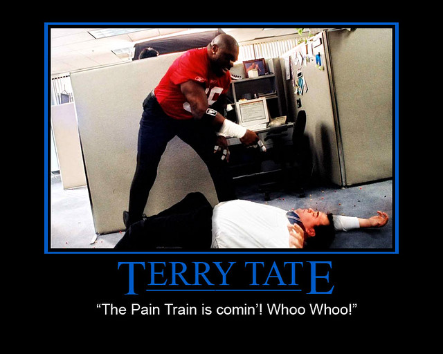 terry tate office linebacker demotivational i couldn t fin flickr