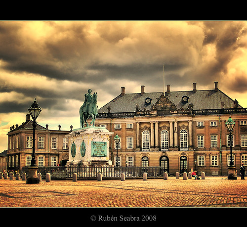HDR - Palace of Christian IX in Amalienborg | by *atrium09