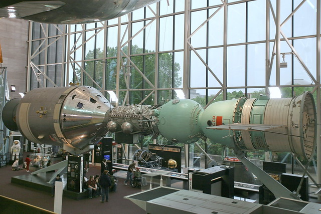 Apollo Soyuz Test Project In July 1975 Two Manned
