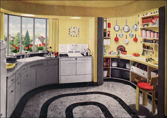 1948 Armstrong Kitchen With Working Pantry Hazel Dell Brow Flickr