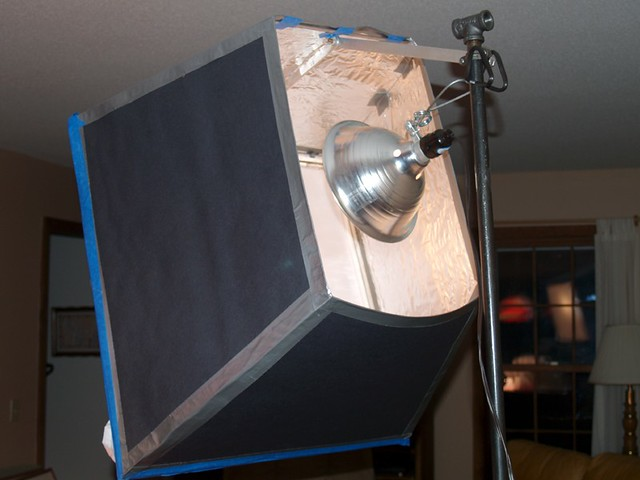 DIY Light Diffuser | Diffuser in action! I built two of ...