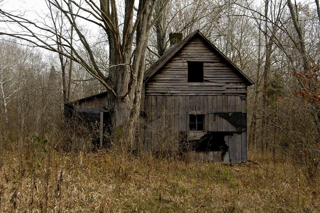 Abandoned Farmhouse Rick Hebenstreit