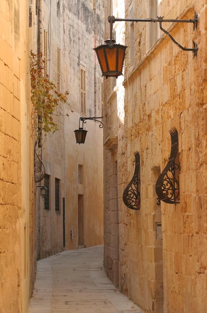 Narrow street; Mdina, Malta | The last of my images of ...