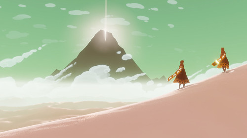Journey for PS3 (PSN) | by PlayStation.Blog