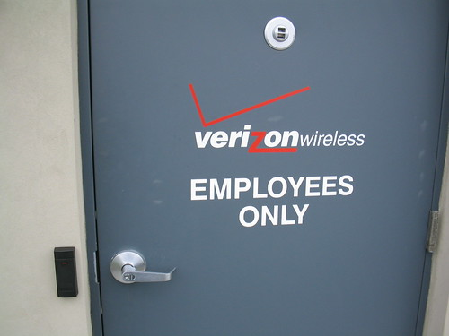 Verizon door | by northernplateguy