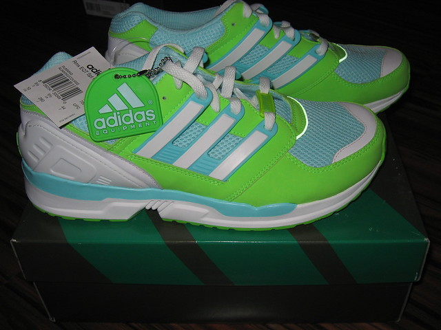 Adidas Equipment Support Adv Breath Support White Powder Running Shoes