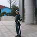 South Korean soldier at DMZ