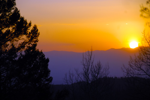 Sunset over the Jemez Mountains | by JasonBechtel