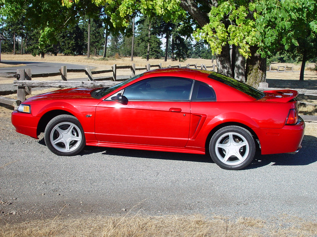 Mufflers 4 Less >> '00 Mustang GT | 2000 Mustang GT in Laser Red. Less than ...