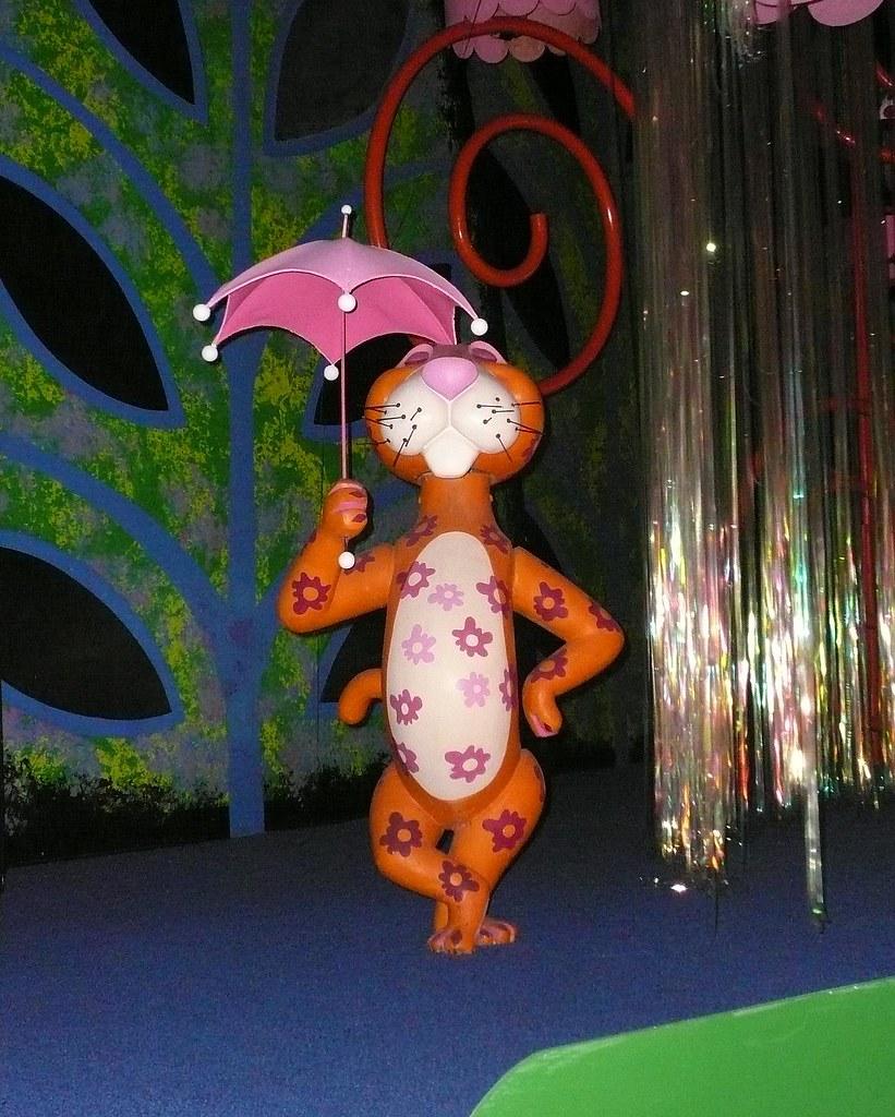 Tiger With Umbrella Small World Magic Kingdom Walt Disney