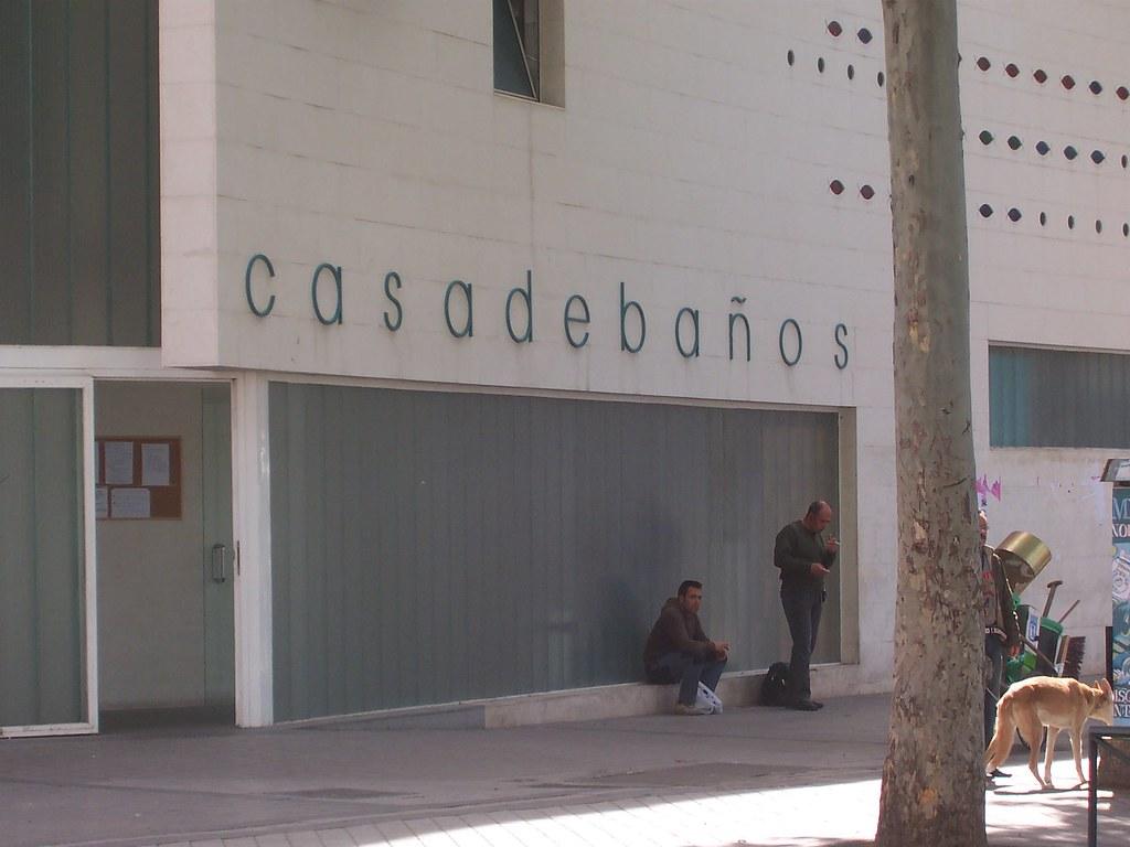 Casa de ba os de embajadores florentino s nchez flickr - Banos en madrid ...