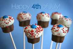 4th of July Pops | by Bakerella