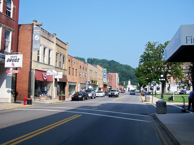Beautiful Downtown Philippi West Virginia Philippi Is