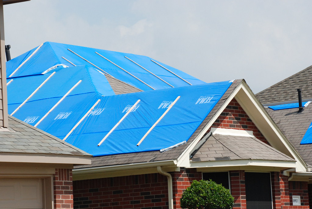 operation blue roof installation
