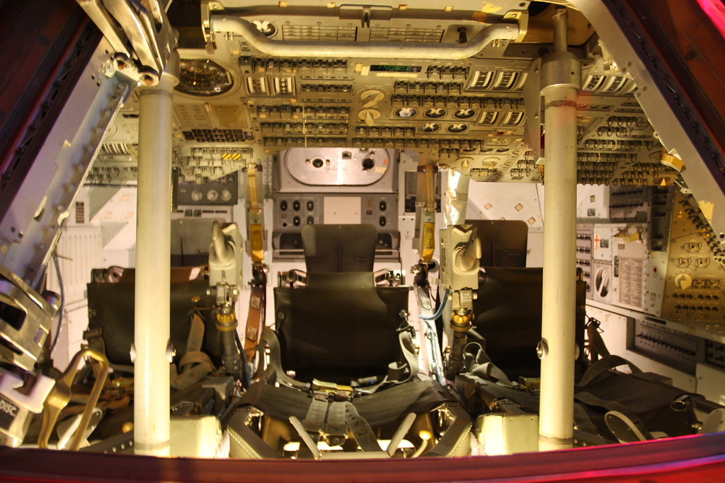 Apollo 14 Command Module Kitty Hawk Inside Andy Bellamy