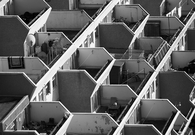 Broadwater Farm | Tangmere abstract | James Burns | Flickr