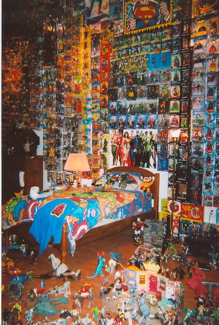 Action Figure Room This Is The Boy S Dream Room