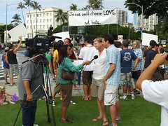 Image from the Marriage Rally in Hawaii | by GLAAD