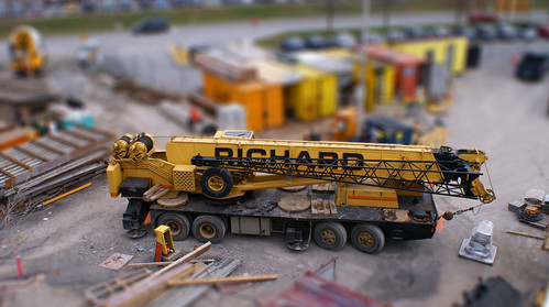 Toy Crane (tilt-shift miniature fake) | by Stroke_and_Distance