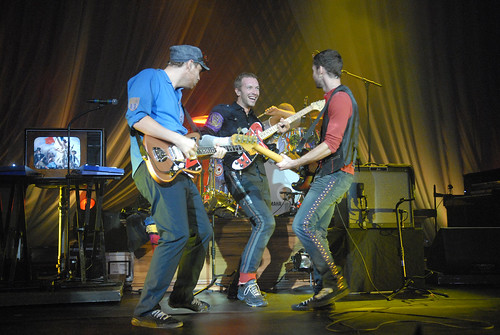 Coldplay performs for Nissan Live Sets on Yahoo! Music | by Yahoo Inc