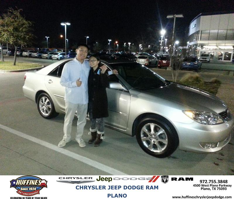 Thank You To Pik Yu Wong On Your New 2005 Toyota Camry F