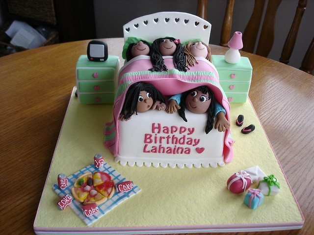 Lahaina S Sleepover Cake Kathryn Flickr