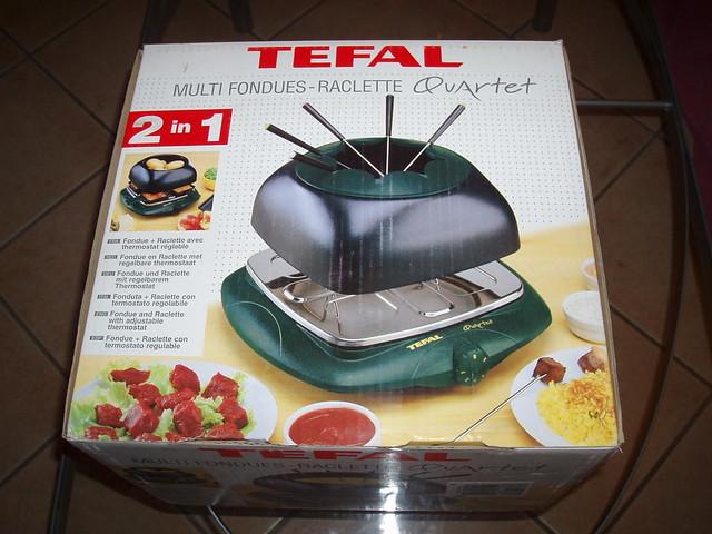 Tefal multi foundues raclette quartet anduim flickr - Four a raclette tefal ...