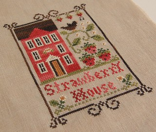 Strawberry House | by Nicole's Needlework