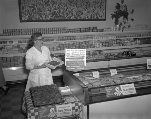 Hostess Pride chicken display | by The Library of Virginia