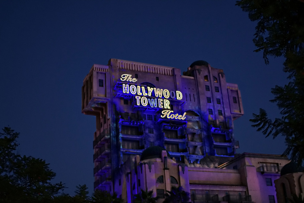 Hollywood Tower Hotel Rooms Disneylnd