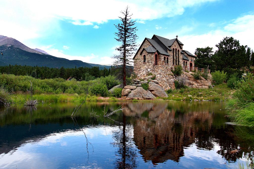 the chapel on the rock saint malo allenspark co flickr. Black Bedroom Furniture Sets. Home Design Ideas