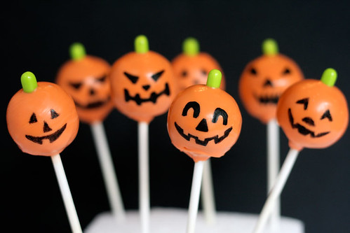 Pumpkin Pops | by Bakerella