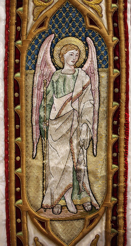 Embroidered archangel Raphael | by Lawrence OP