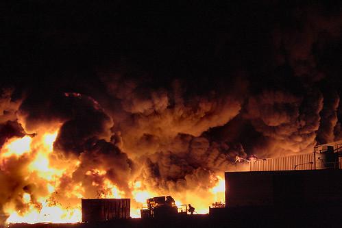 Incendio en el Goro - Consorcio Emergencias G. C.