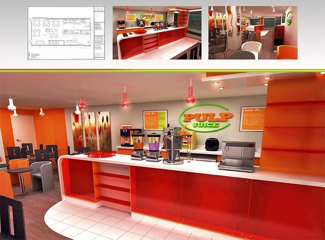 D interior design pulp juice bar evansvisualarts flickr
