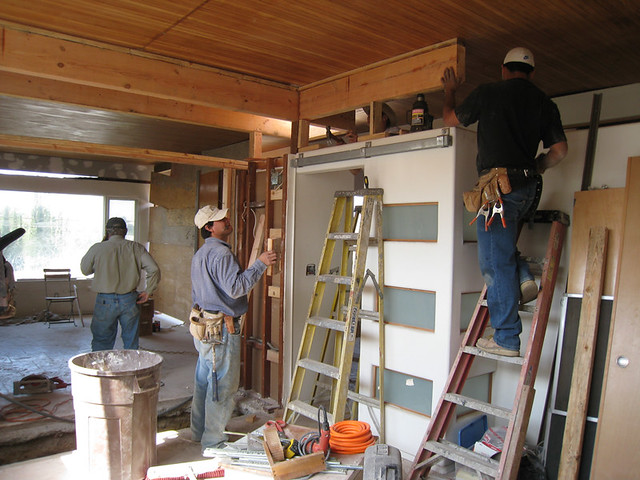 ... Gutting the Interior - by Jeremy Levine Design