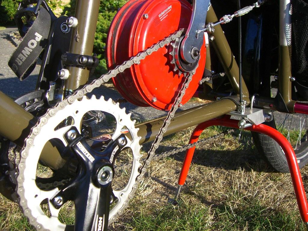 Как сделать мотор на велосипед