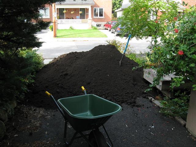 Cubic Yard Measurement Landscaping : Photo