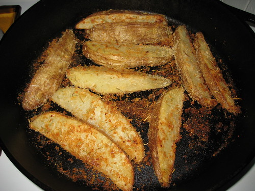 Homemade Oven Fried Potato Wedges | by WhereInDC