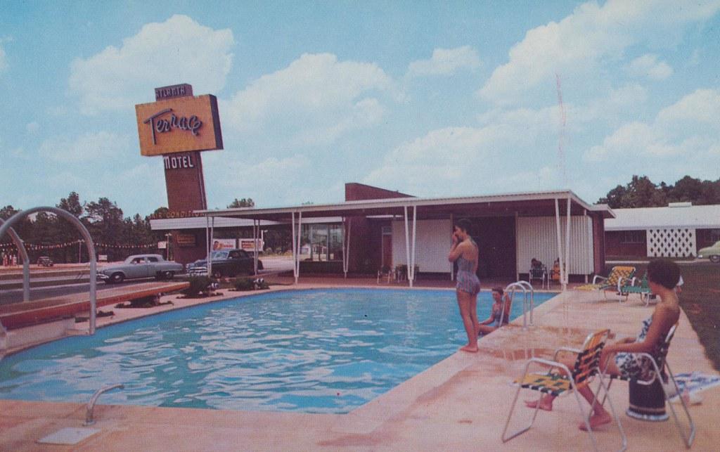 Atlanta Terrace Motel Hapeville Georgia U S Highway