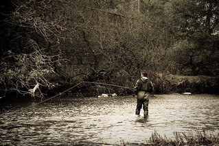 Fly Fishing on the River Severn | by kasperbs