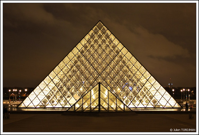 paris by night 6 louvre paris france julien tordjman flickr. Black Bedroom Furniture Sets. Home Design Ideas