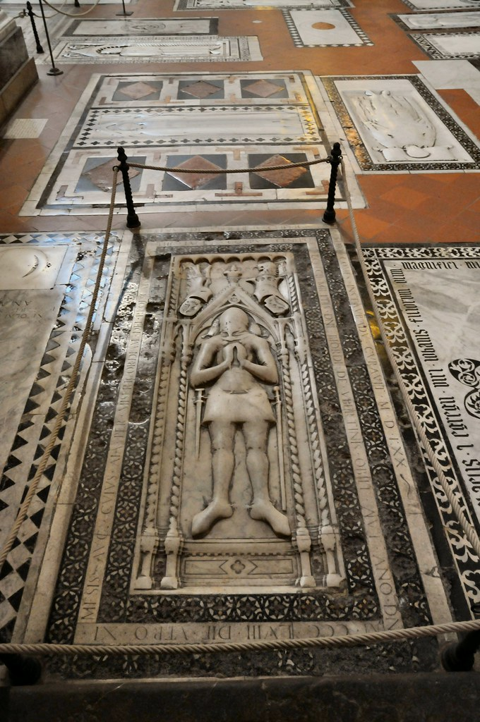 Florence Basilica Of Santa Croce Floor Burial Site Flickr
