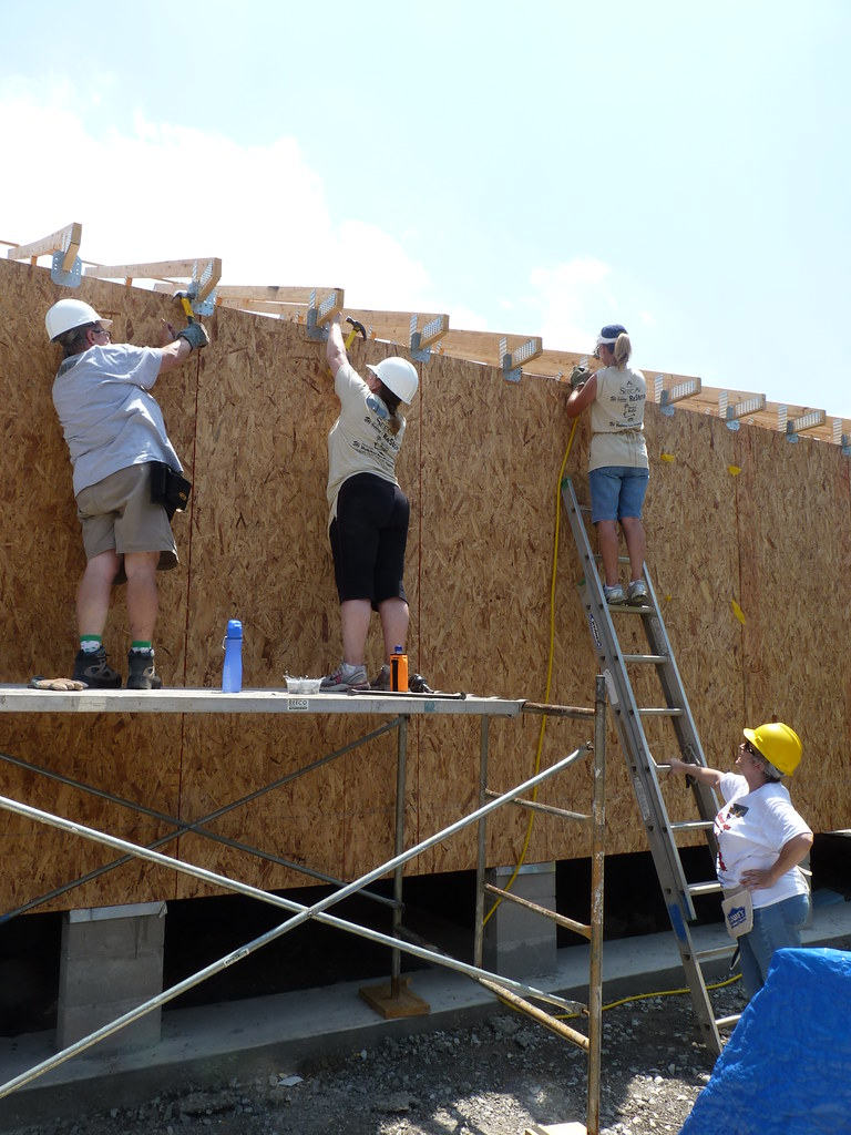 Installing Hurricane Clips On The Roof Trusses Women